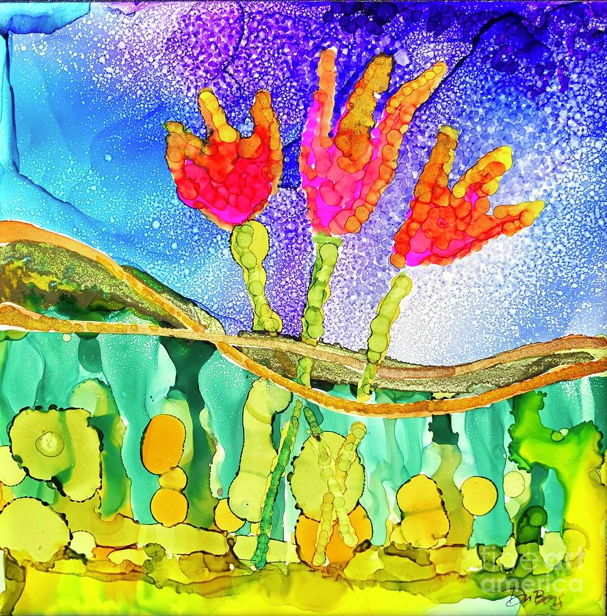 Tulip Trio by Lisa DuBois