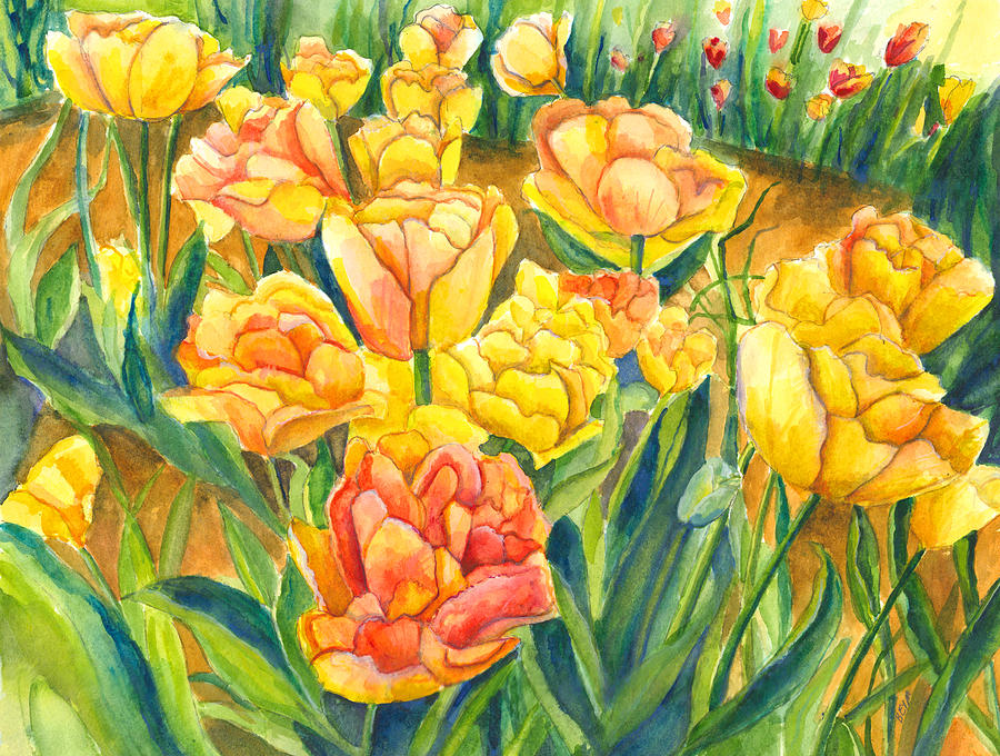 Tulips by Clara Sue Beym