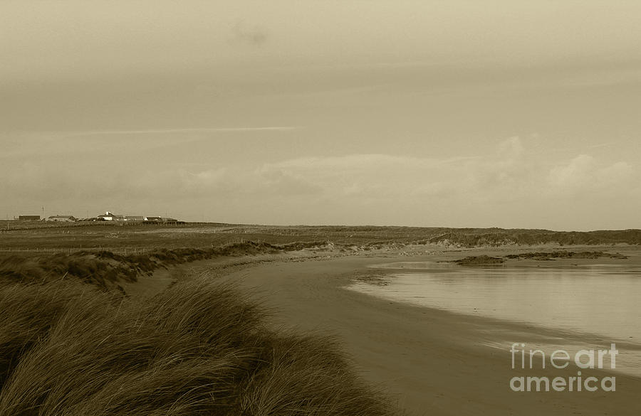Tullagh Strand Donegal Tint by Eddie Barron