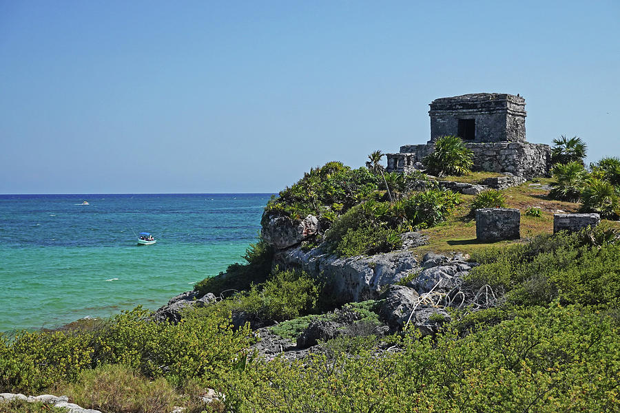 Tulum Ruins Ruins on the Ocean Tulum Mexico by Toby McGuire