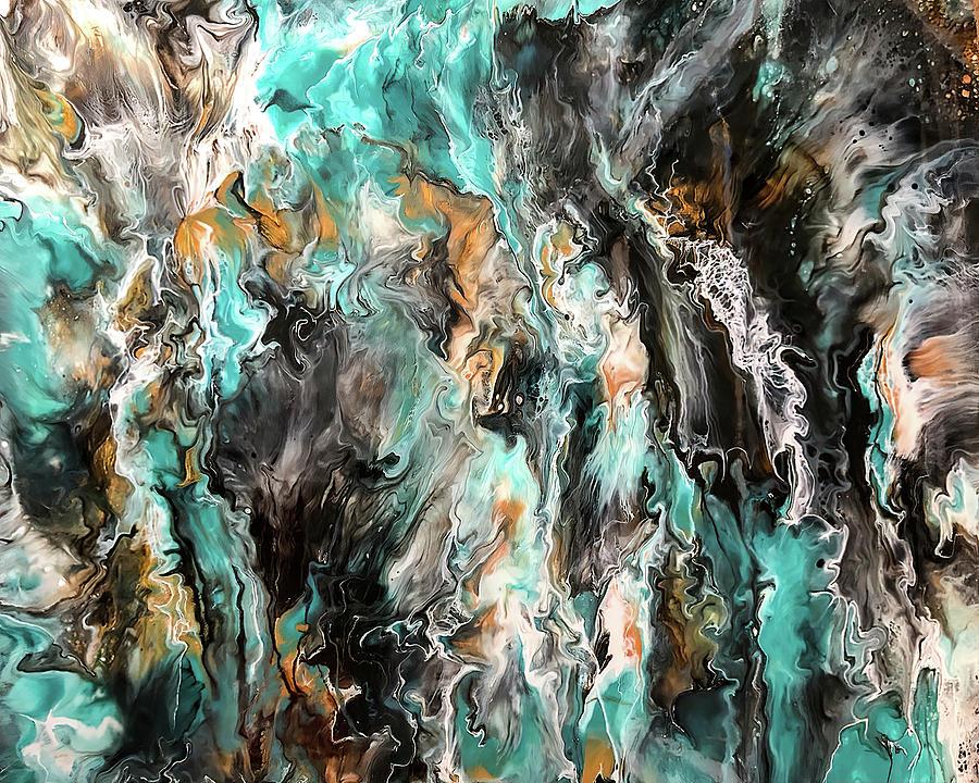 Acrylic Painting - Tumultuous by Teresa Wilson by Teresa Wilson