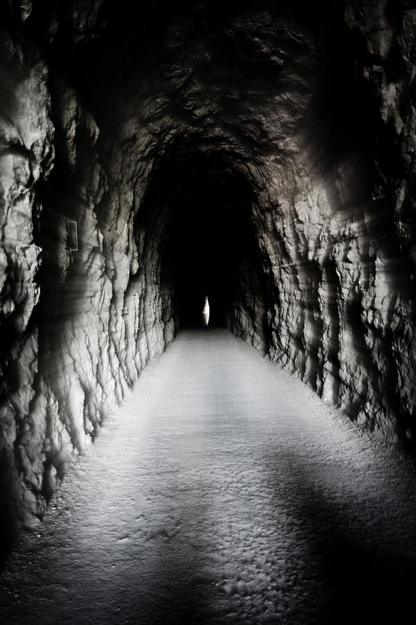 Tunel Lumbier Photograph by Vicente Guerrero Gimeno
