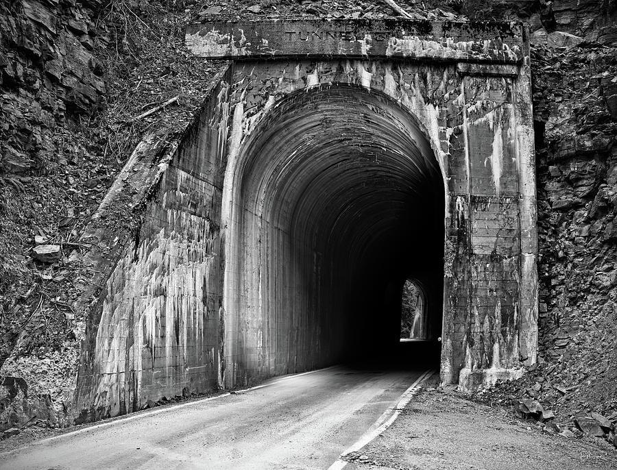 Idaho Photograph - Tunnel by Leland D Howard