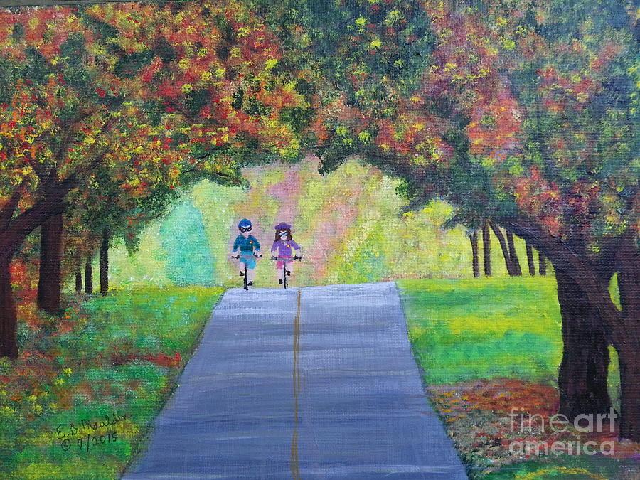 Tunnel of Trees by Elizabeth Dale Mauldin