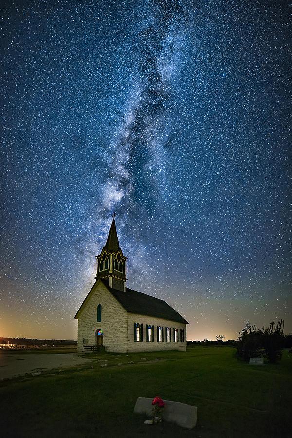 Church Photograph - Tunnel To Heaven by Michael Zheng