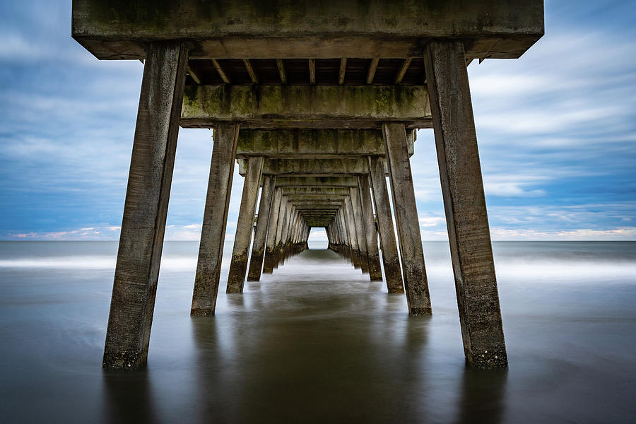 Ocean Photograph - Tunnel to the Open Atlantic by Brian Young