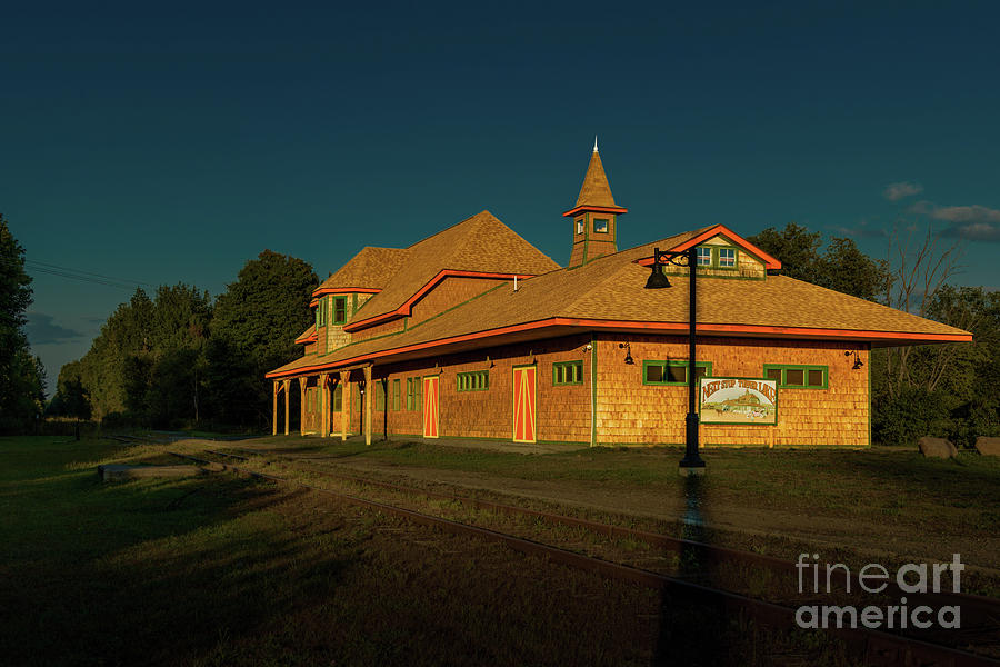 Tupper Lake Depot by Roger Monahan