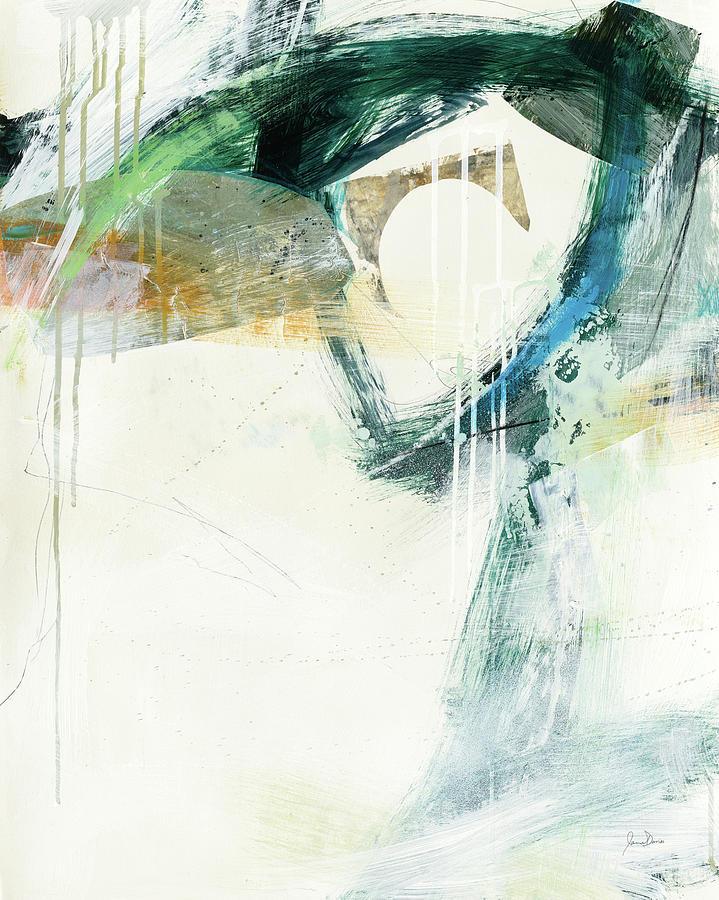 Abstract Painting - Turbulence IIi by Jane Davies
