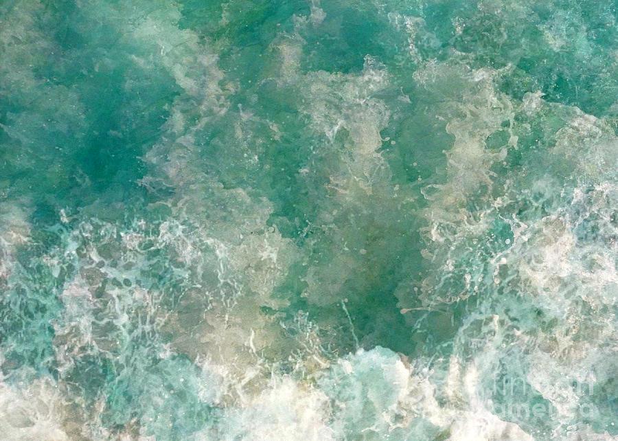 Turbulent Seas Digital Art