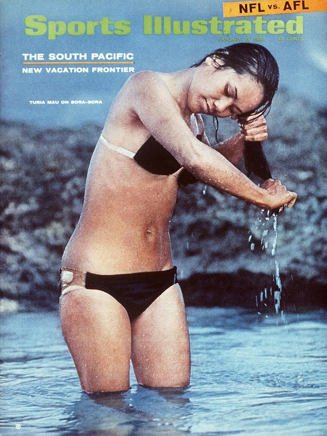 Turia Mau Swimsuit 1968 Sports Illustrated Cover Photograph by Sports Illustrated