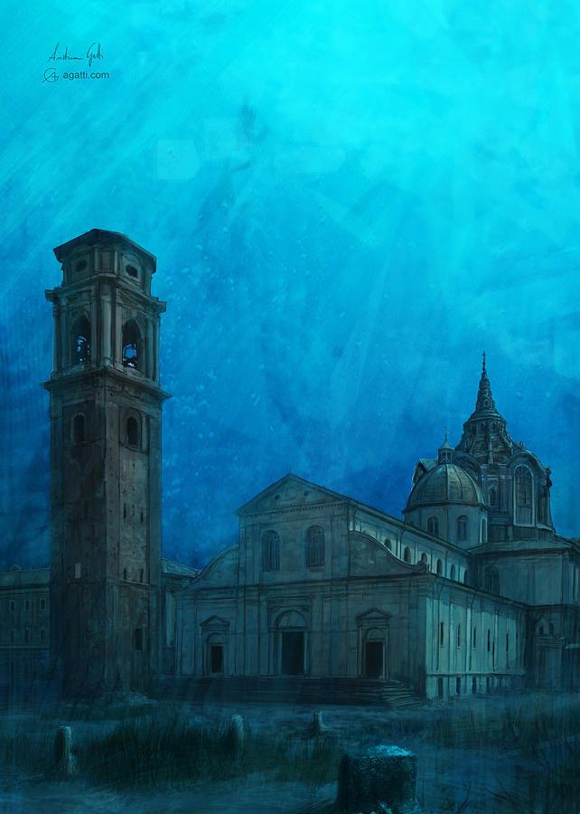 Turin Cathedral Digital2 Digital Art