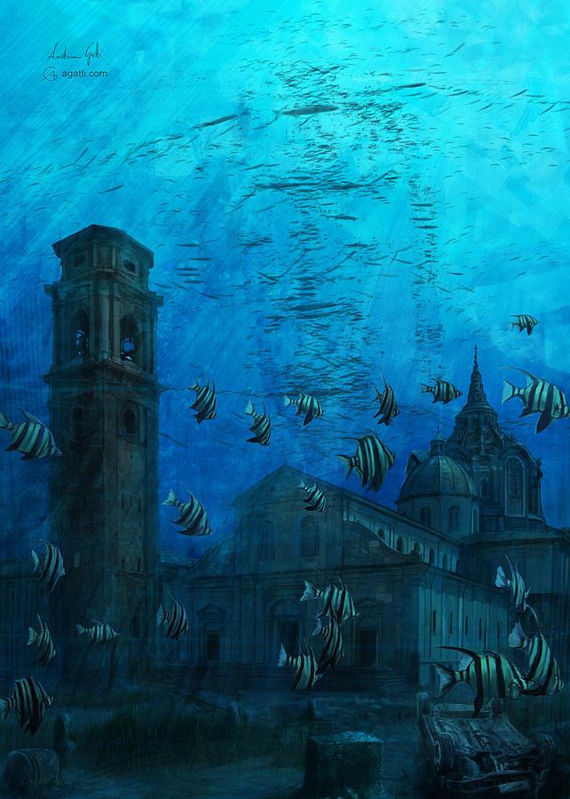 Turin Cathedral Digital3 Digital Art