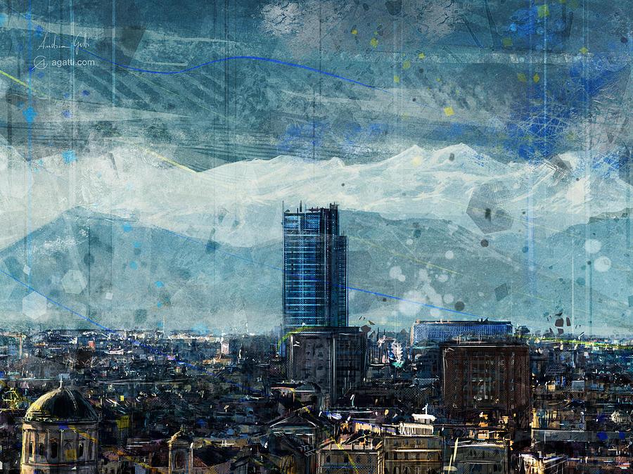 Turin Skyscraper Digital Art