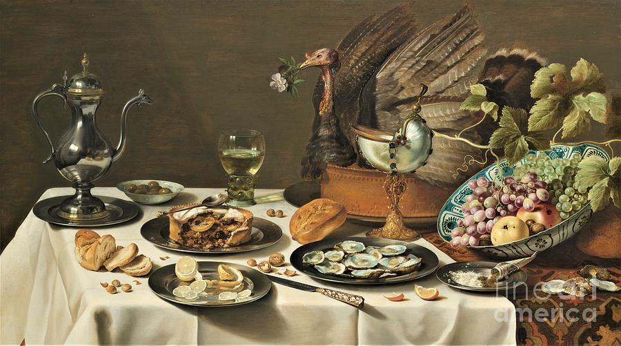 Turkey Pie Painting
