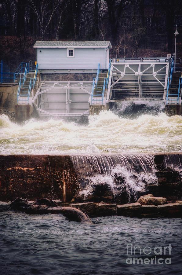 Turmoil at the Upper Appleton Dam by Ever-Curious Geek