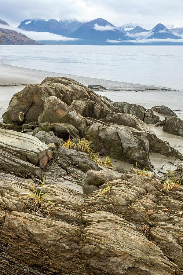 Alaska Photograph - Turnagain Ebb Tide by Tim Newton