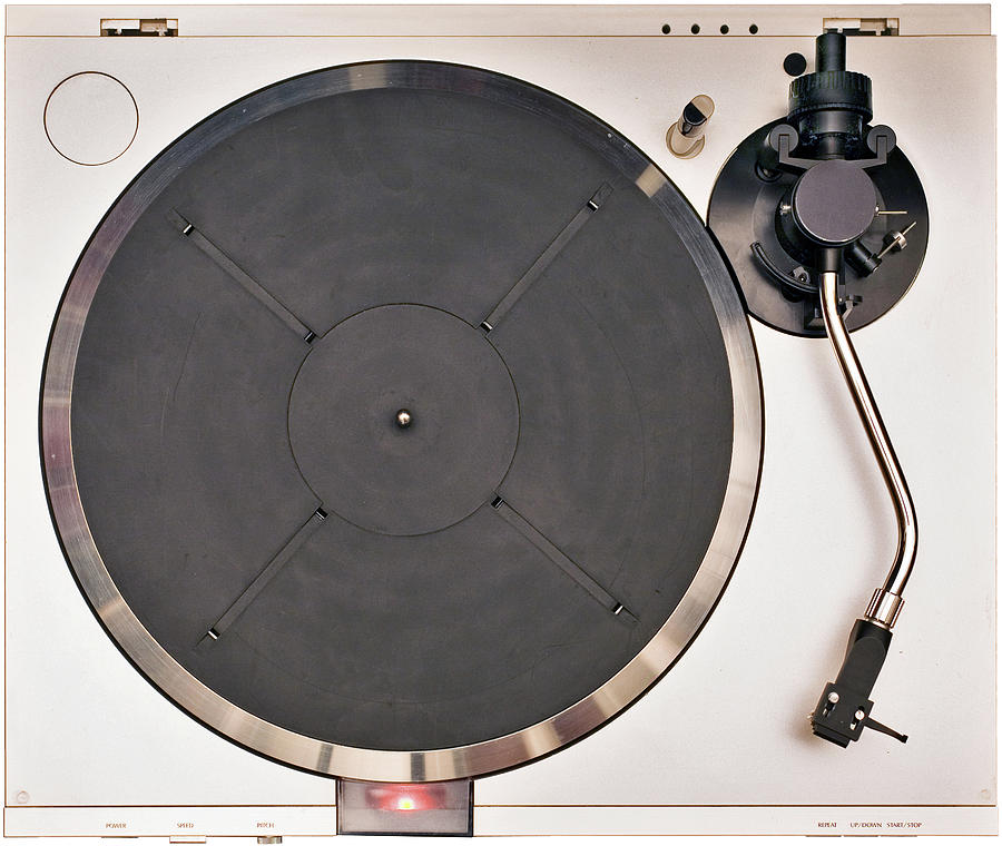 Turntable Top Photograph by Slobo
