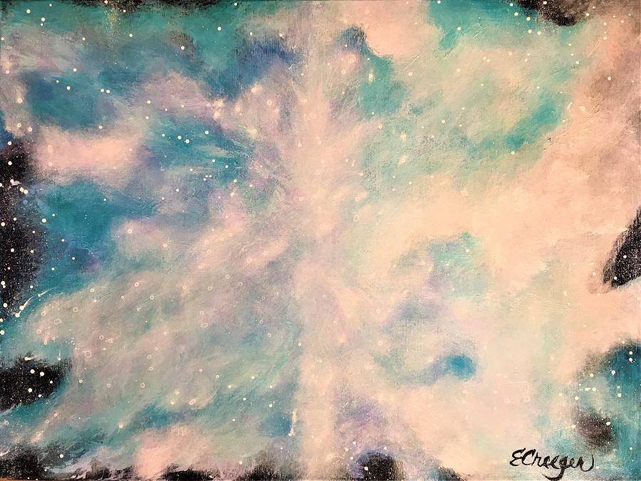 Turquoise Cosmic Cloud by Esperanza Creeger