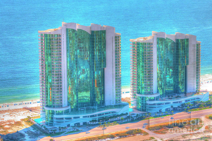 Turquoise Place by Gulf Coast Aerials -
