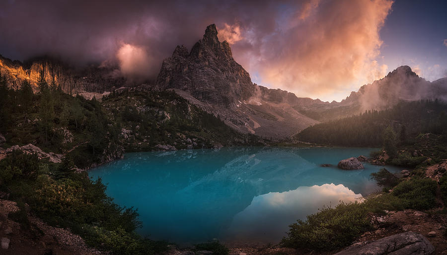 Turquoise Refection Photograph by Carlos F. Turienzo