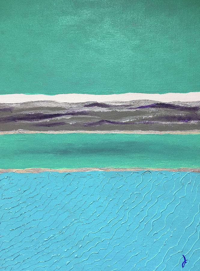 Turquoise Sea by Danielle Fry