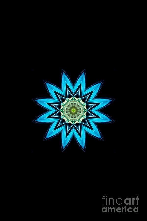 Turquoise Star by Rachel Hannah