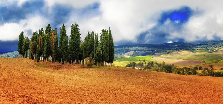 Tuscan Landscape by Lev Kaytsner