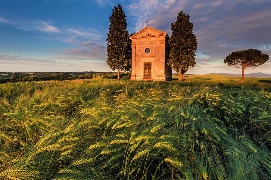 Tuscany Chapel by Evgeni Dinev