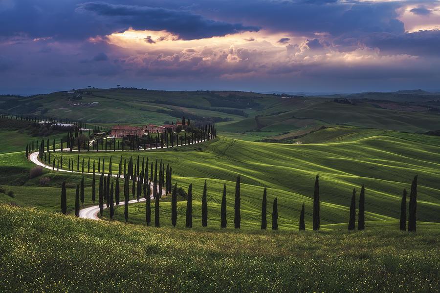Belvedere Photograph - Tuscany - Crete Senesi by Jean Claude Castor