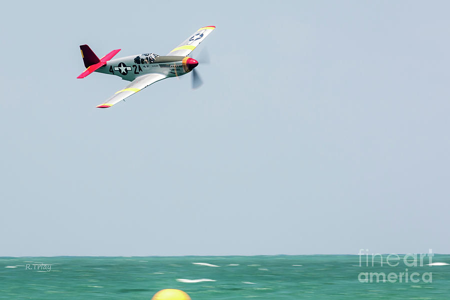 Tuskegee Airmen P-51 Mustang by Rene Triay Photography