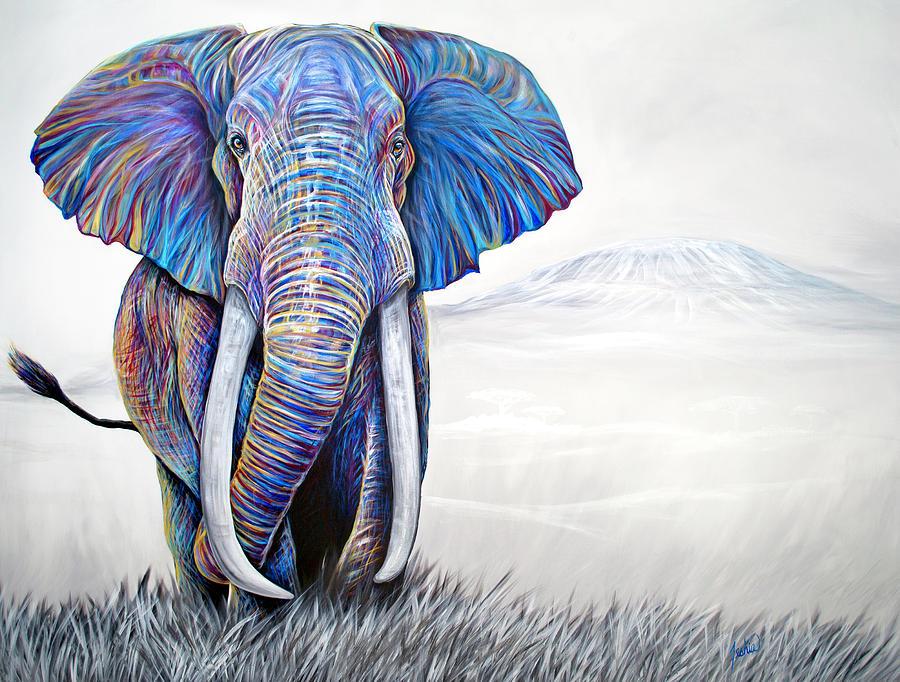 Tusker by Teshia Art
