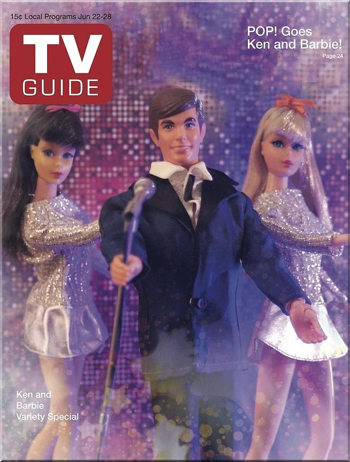 Tv Guide Ken And Barbie Photograph