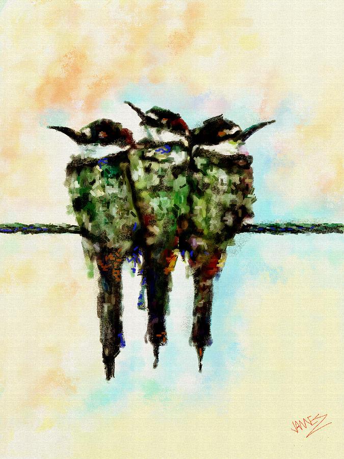 Tweey Birds by James Shepherd
