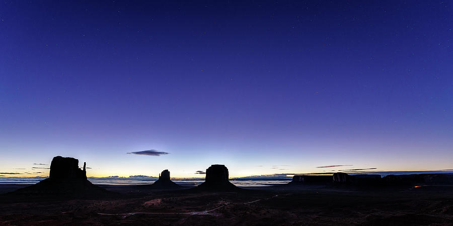 Monument Valley Photograph - Twilight Approaches by Mike Herdering