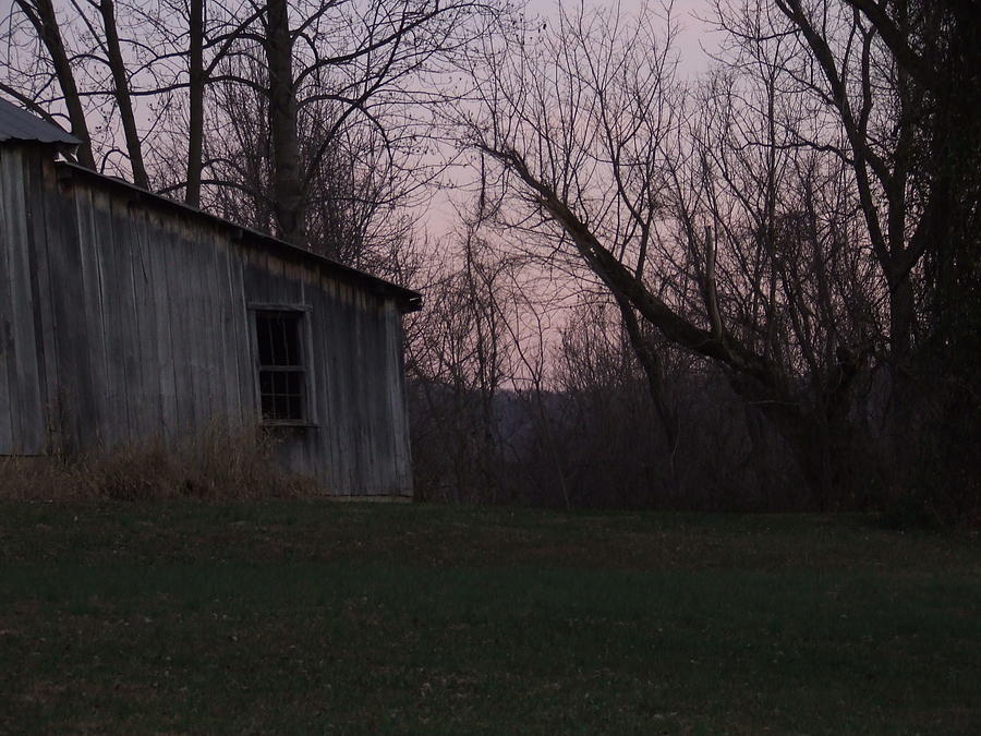 Twilight at the Old Shed by Ty Unglebower