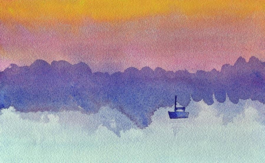 Twilight Boat by Paul Thompson