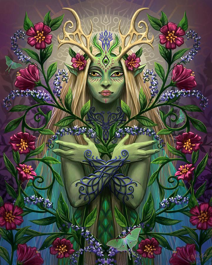 Twilight Garden by Cristina McAllister
