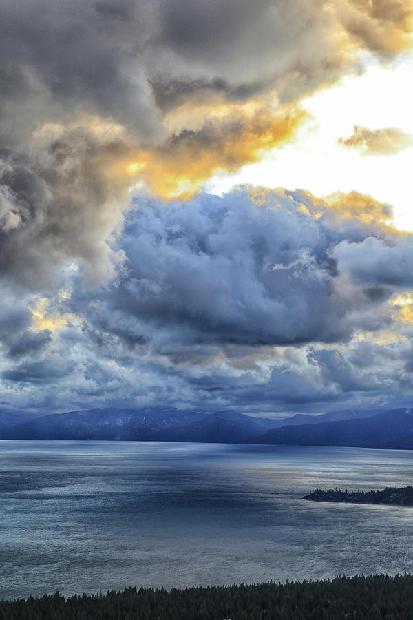 Twilight in Crystal Bay by Tom Kelly
