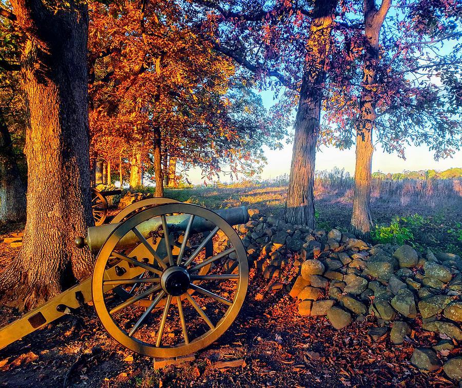 Twilight on Seminary Ridge  by Paul Kercher