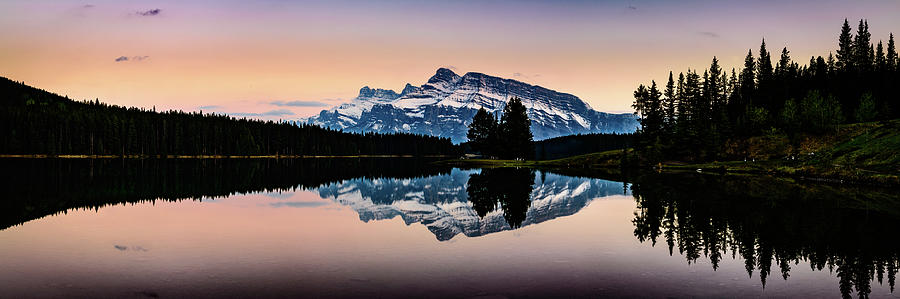Twilight, Two Jack Lake by Peter OReilly