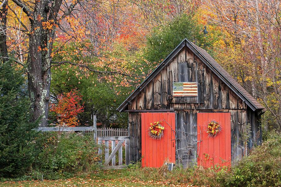 Twin Barn Doors by T-S Photo Art