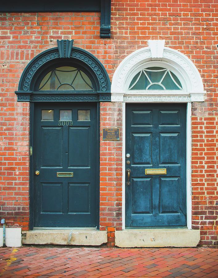 Twin Doors in Georgetown by Sonja Quintero