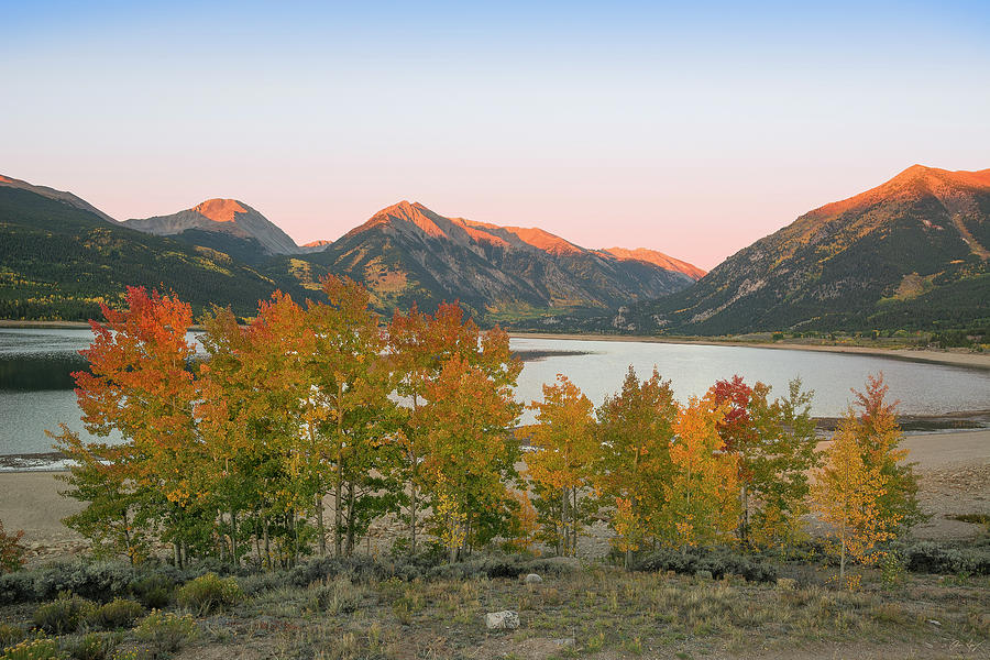 Twin Lakes Autumn by Aaron Spong