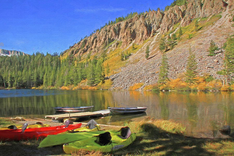 Twin Lakes Photograph - Twin Lakes by Donna Kennedy