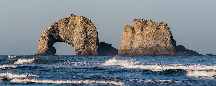 Twin Rocks Rockaway Beach by Robert Potts