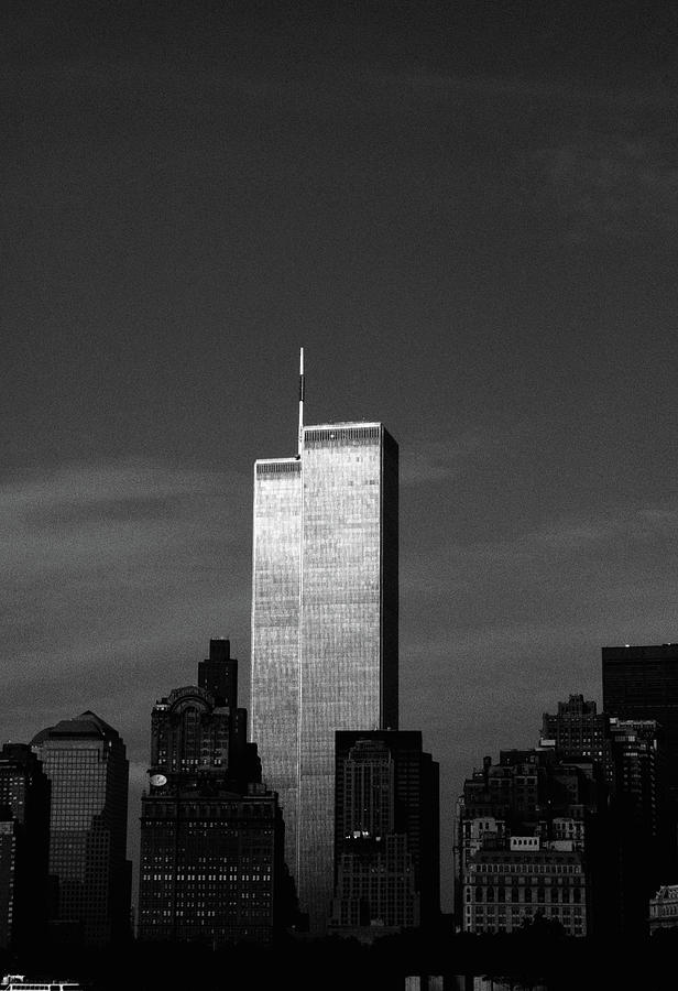 New York City Photograph - Twin Towers #1, 1999 by Chris Hunt