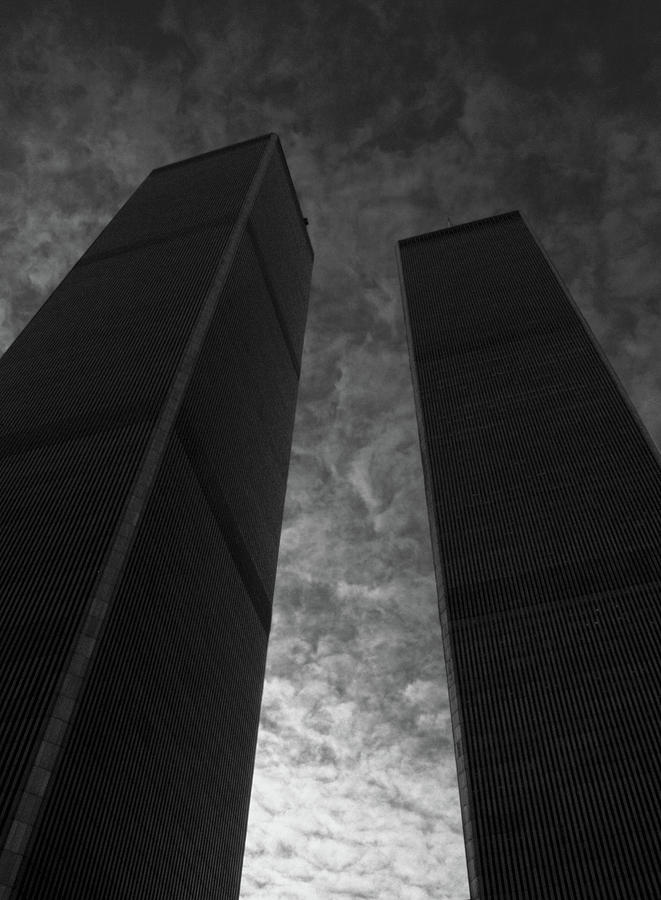 Wtc Photograph - Twin Towers #2, 1999 by Chris Hunt