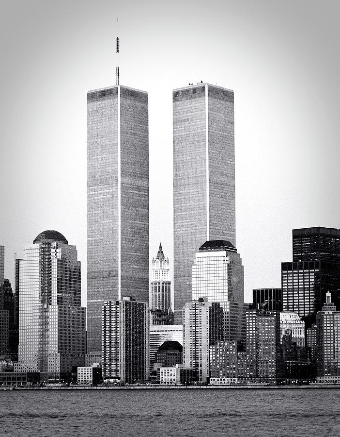 Twin Towers, NYC 1987 by Frank Winters