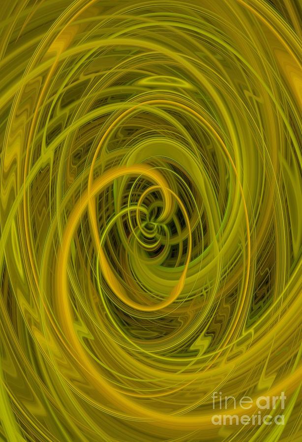 Twirling Goldenrod  by Karen Silvestri