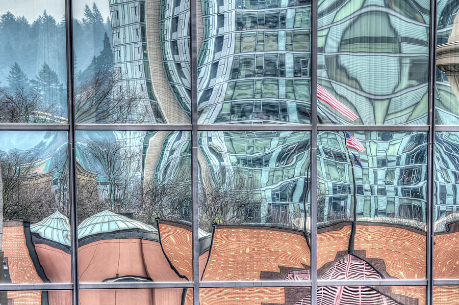 Twisted Sister Reflections by Jean Noren